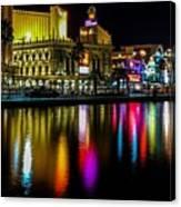 Vegas Reflections Canvas Print