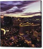Vegas Sunset Canvas Print