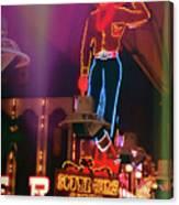 Vegas Vic Canvas Print