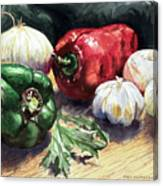 Vegetable Golly Wow Canvas Print