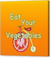 Vegetable Kitchen Decor Canvas Print