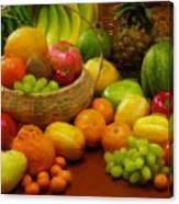 Vegetables And Fruits  Canvas Print