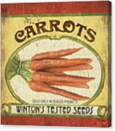 Veggie Seed Pack 4 Canvas Print