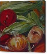 Vegie Feast Canvas Print
