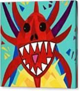 Vegigante Red Canvas Print