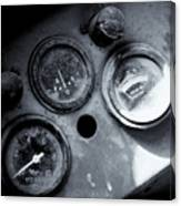 Vehicle Dials In Dust Canvas Print