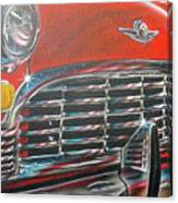 Vehicle- Grill Canvas Print