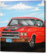Vehicle- Nova Canvas Print