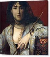 Veiled Circassian Lady Canvas Print