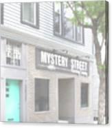 Veiled Mystery Mystery Street  Canvas Print
