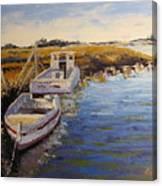 Veldrift Boats Canvas Print