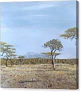 Veldt Canvas Print