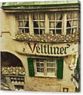 Veltliner Keller Canvas Print