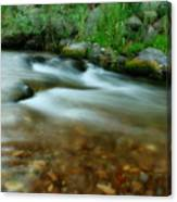 Velvet River Canvas Print