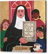 Ven. Catherine Mcauley - Mmvcm Canvas Print