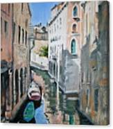 Venetian Blue Canvas Print