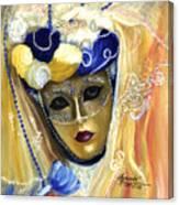 venetian carneval mask V Canvas Print