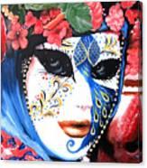 venetian carnevale mask III Canvas Print