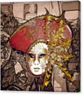 Venetian Mask Canvas Print