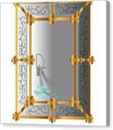 Venetian Mirror Canvas Print