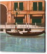 Venetian Number Two Canvas Print