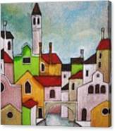 Venezia Scorcio Canvas Print