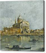 Venice. A View Of The Church Of San Giorgio Maggiore Canvas Print