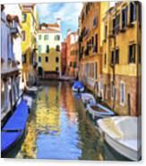Venice Alleyway 2 Canvas Print