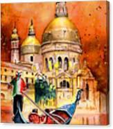 Venice Authentic Canvas Print