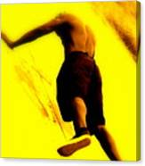 Venice Beach Athlete Canvas Print