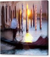 Venice Blue Hour 1 Canvas Print