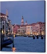Venice Blue Hour 2 Canvas Print