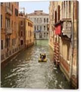 Venice Canal 2 Canvas Print
