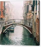 Venice Canal II Canvas Print