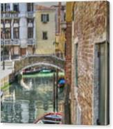 Venice Channels1  Canvas Print