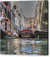 Venice Channelsss Canvas Print