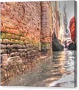 Venice Channelssss  Canvas Print