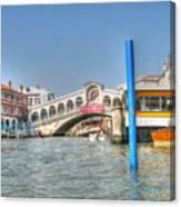 Venice Channelssssss Canvas Print