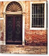 Venice Door Canvas Print