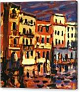 Venice Evening Canvas Print