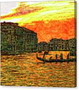Venice Eventide Canvas Print