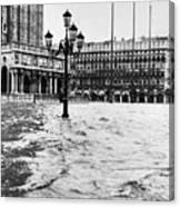 Venice: Flood, 1966 Canvas Print