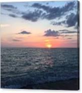 Venice Florida Sunset Canvas Print