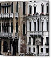 Venice Gondolier 2 Canvas Print