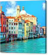 Venice Grand Canal Canvas Print
