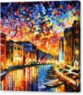 Venice - Grand Canal Canvas Print