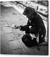 Venice Gypsy Woman Canvas Print