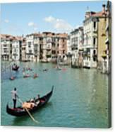 Venice In Colors Canvas Print