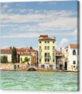 Venice In Summer  Canvas Print