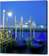 Venice Lagoon At Dusk Canvas Print